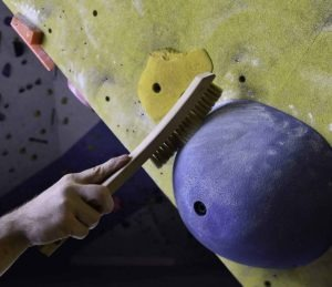 Climbing Boars Hair Brush - Cleaning Tool Designed for Rock Climbing Holds
